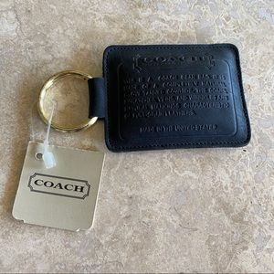 NWT Coach Bean Bag Key Chain